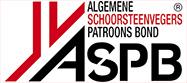ASPB logo, de wijkers zijn aangesloten bij de Algemene Schoorsteenvegers Patroons Bond
