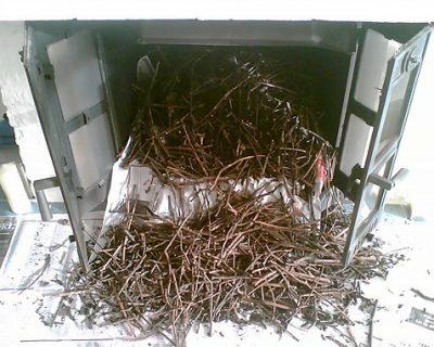 vogelnest verstopping schoorsteen